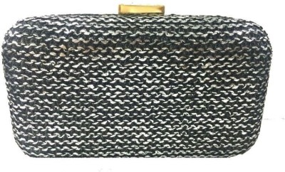 Luxury Living Party Black  Clutch