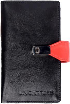 Uni Carress Women Casual Black, Red  Clutch