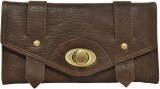 Indostyle Women Casual Brown  Clutch