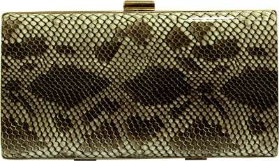 Franclo Girls Party Black, Gold  Clutch