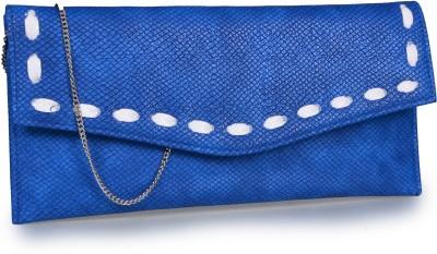Contrast Girls Festive Blue  Clutch