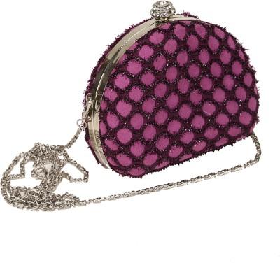 Mese Casual Purple  Clutch