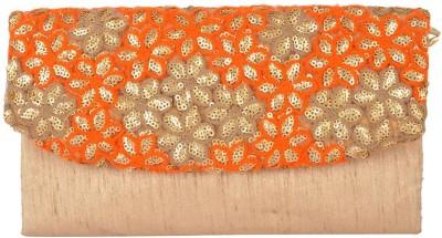 Arisha kreation Co Wedding Orange  Clutch