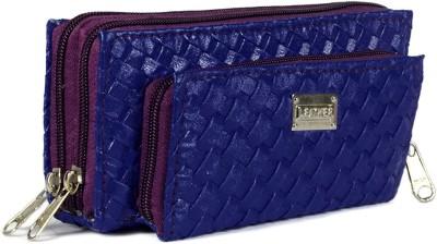 Magiq Women Casual Blue  Clutch