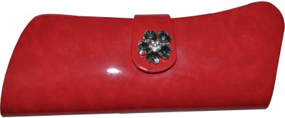 MD Retails Women Party Red  Clutch
