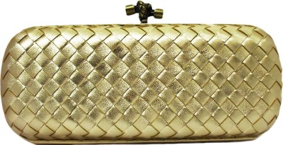 Zaira diamond Gold  Clutch