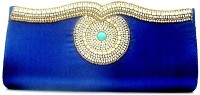 Sunita Fashion Casual, Party Blue  Clutch