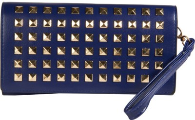 Young & Forever Women Casual, Party, Wedding Blue  Clutch