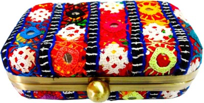 Kairan jaipur Multicolor  Clutch
