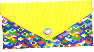 Arisha kreation Co Women Casual Yellow  Clutch