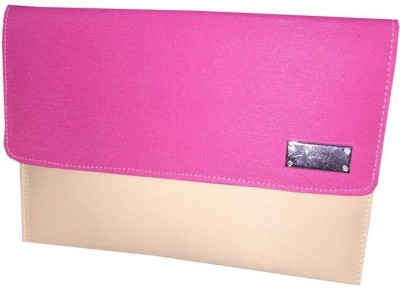Apnav Girls Party Pink, White  Clutch