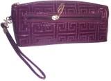 OBEROI Women Casual Purple  Clutch