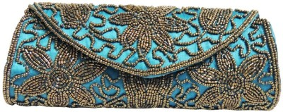 Kion Style Girls, Women Party, Wedding, Festive Blue  Clutch