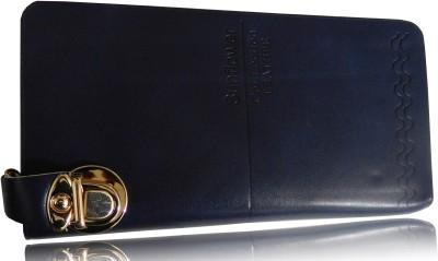SN LOUIS Girls, Women Blue Genuine Leather Wallet