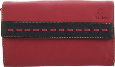 Fashion Leather Casual Maroon  Clutch