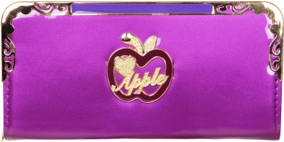 Fashion Leather Party Purple  Clutch