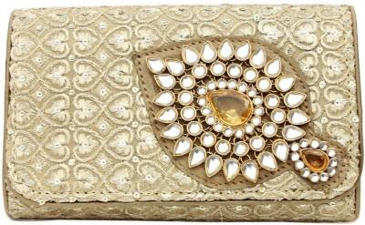 Craftbazaar Gold  Clutch