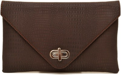 SG Collection Girls Casual Brown  Clutch
