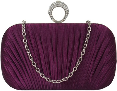 PamperVille Party Purple  Clutch