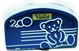 Violet Women Casual Blue  Clutch