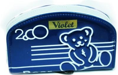 VIOLET Casual Blue  Clutch