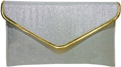Angelfish Party Silver  Clutch