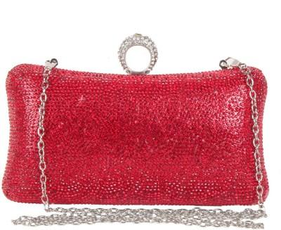 Reedra Festive Red  Clutch
