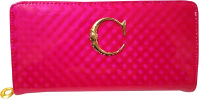 A To Z Creations Women, Girls Casual, Party Pink  Clutch