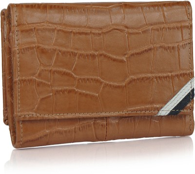 League Leather Women Casual, Party Brown  Clutch