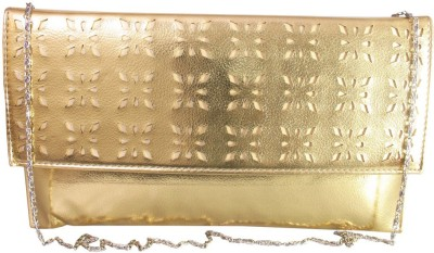 Lion Heart Party, Wedding Gold  Clutch