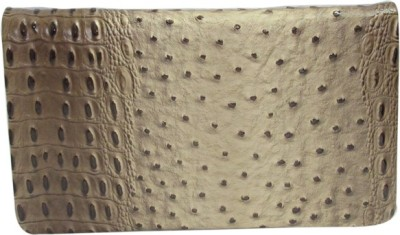 Laviva Party White, Brown  Clutch