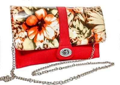 Bagzmania Women Casual Red  Clutch