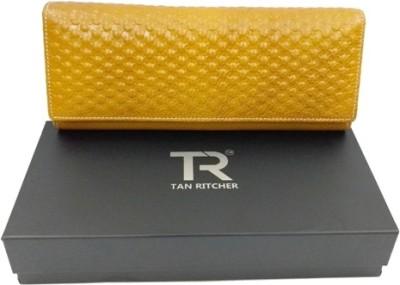 TAN RITCHER Yellow  Clutch