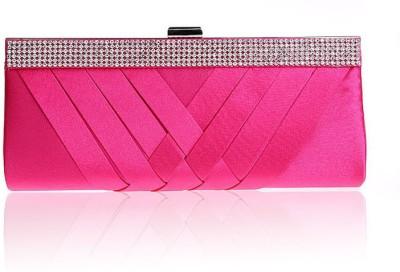 Zizelle Women Party Pink  Clutch