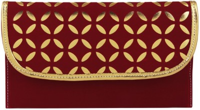 Gihaan Party, Festive Maroon  Clutch