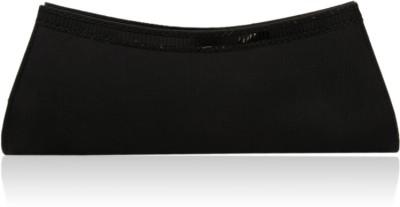 Oleva Mirror Women Casual, Party Black Genuine Leather Clutch
