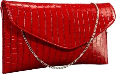 Contrast Girls Festive Red  Clutch