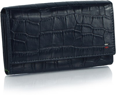 League Leather Women Casual, Party Blue  Clutch