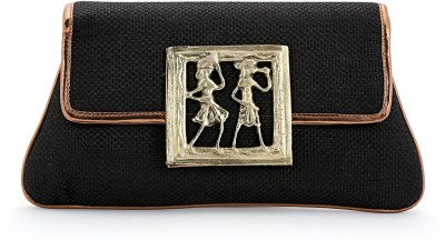 Elligator Women Party Black  Clutch