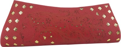 X-WELL Party, Wedding, Festive Maroon  Clutch