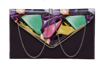 NAAZ BAGS COLLECTION Blue  Clutch
