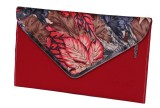 Awesome Fashions Women Red  Clutch