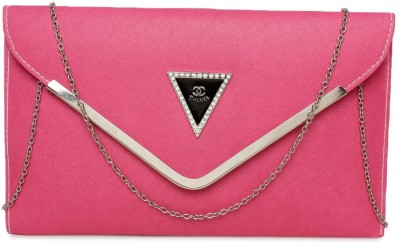 Arshi Fashion Party Pink  Clutch