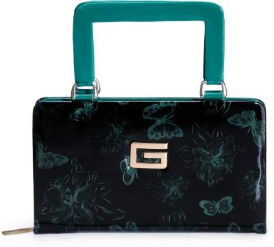 Bags Craze Women Festive, Wedding, Casual Black, Green  Clutch