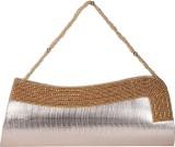 Ritu Fashion Women Brown  Clutch