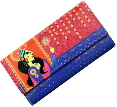 Mad(e) in India Multicolor  Clutch