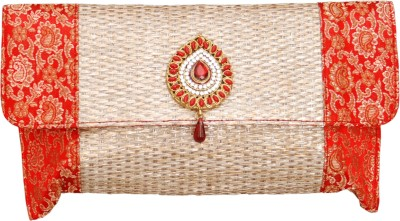 Kimayaa Women Festive Multicolor  Clutch