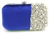 Beautifeel Women Casual Blue  Clutch
