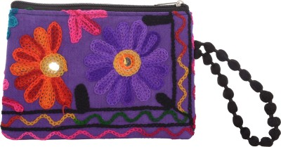 Arisha kreation Co Casual Purple  Clutch