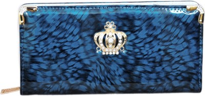Fusion Clutches Women Casual Blue  Clutch